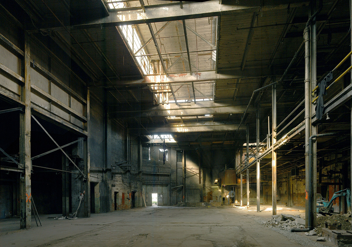 Abandoned Warehouse Industrial Revolution Style Max